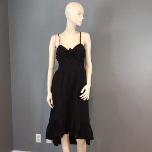 "NWT Joie Cutout Black ""Clorinda"" Dress Sz 4"
